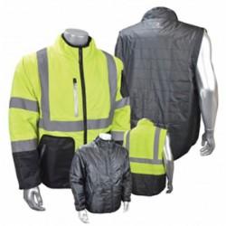 Radians - SJ510-3ZGS-2X - Radians SJ510-3ZGS-2X Quilted Reversible Jacket with Zip-Off...