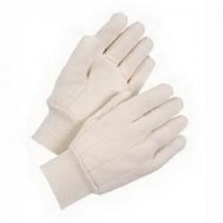 Wells Lamont - Y6503L - Wells Lamont Y6503 Cotton Clute Cut Canvas Gloves; Large, Na...
