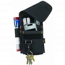 Custom Leathercraft - 1104 - Custom Leather Craft 1104 8-1/2-Inch x 5-1/2-Inch Multi-Purpose Poly Tool Holder