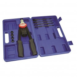 Astro Pneumatic Tool - 1427 - Astro Pneumatic 1427 M5 M6 M8 M10 and M12 Hand Rivet Nut Kit