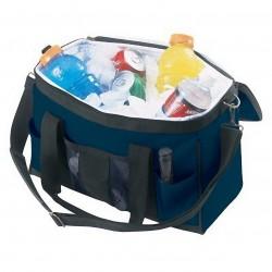 Custom Leathercraft - 1540 - Custom Leather Craft 1540 15-Inch 4-Pocket Quick Grab Top Hatch Sealed Cooler Bag