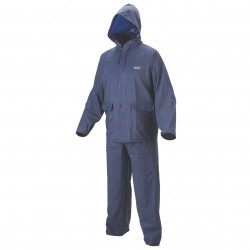 Coleman Company - 2000014984 - Coleman 20mm Navy PVC Lightweight Apparel Jacket and Pants Rain Suit - X-Large