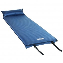 Coleman Company - 2000016960 - Coleman Blue Durable Portable Compact Self-Inflating Camping Pad w/ Pillow