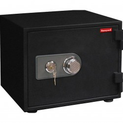 Honeywell - 2103 - 0.63 Cubic Feet Fire Safe - Lock Type: Combination Dial