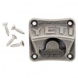 Yeti - 21110000001 - Yeti 21110000001 Steel Wall Mounted-Retro Style Bottle Opener