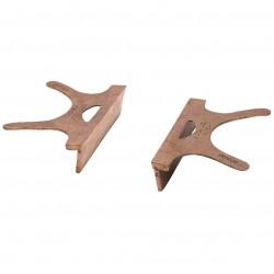 Wilton - 24404 - Wilton 24404 3.5' Jaw Width Copper Jaw Caps - 24404