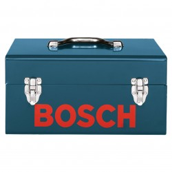 Bosch - 2610906281 - Bosch 2610906281 Heavy Duty Blue Metal Hand Planer Tool Box Carry Case