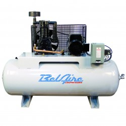 BelAire Compressors - 318H - BelAire 318H 5 Hp, 80 Gallon, 208/230v 1 Phase, 2-Stage Electric Compressor (16.60 ACFM @ 175 PSI)