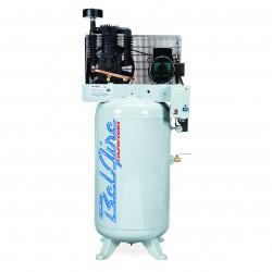 BelAire Compressors - 338VE - BelAire 338VE Vertical 5 Hp, 80 Gallon, 208-230 3 Phase, 2-Stage Elite Series Compressor (16.60 ACFM @ 175 PSI)
