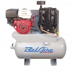 BelAire Compressors - 3G3HH - BelAire 3G3HH 11 Hp, 30 Gallon, Gas Engine, 2-Stage Compressor (16.60 Cfm@175)