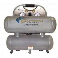 California Air Tools - 4610ALFC - California Air Tools 4610ALFC 110-Volt 4.6-Gallon Twin Tank Air Compressor