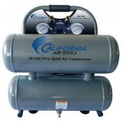 California Air Tools - 4610ALFCAD - California Air Tools 4610ALFCAD 110-Volt 4.6-Gallon Twin Tank Air Compressor
