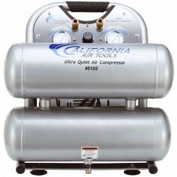 California Air Tools - 4610S - California Air Tools 4610S 1-Hp 4.6-Gallon Steel Tank Air Compressor