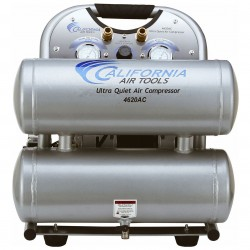 California Air Tools - 4620AC - California Air Tools 4620AC 2-Hp 4.6-Gallon Aluminum Tank Air Compressor