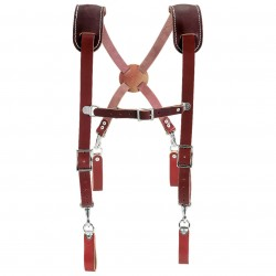 Occidental Mfg - 5009 - Occidental Leather 5009 H.D. Leather Suspenders