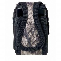 Custom Leathercraft - 5124M - Custom Leather Craft 5124M Sportsman Mossy Oak Cell Phone Padded Interior Holder