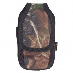 Custom Leathercraft - 5127M - Custom Leather Craft 5127M Sportsman Mossy Oak Smartphone Padded Interior Holder