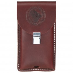 Occidental Mfg - 5328 - Occidental Leather 5328 Clip-On Leather Phone Holster for iPhone Case - Large