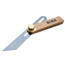 Affinity Tool Works - 540519 - Bora 540519 9-Inch Edge Checking Blue Steel Blade Beechwood Carpenters Bevel