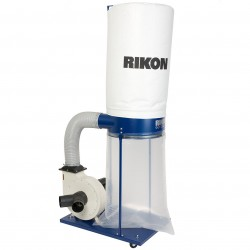 RIKON Power Tools - 60-200 - RIKON 60-200 110-Volt 2-Hp 16-Amp Durable Powerful Toggle Switch Dust Collector