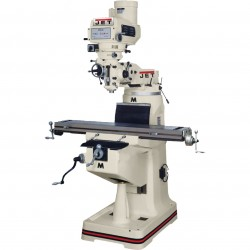 JET Tools / Walter Meier - 690274 - Jet 690274 Mill with X-Axis Powerfeed and Power Draw Bar 690274