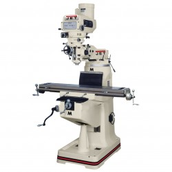 JET Tools / Walter Meier - 691240 - Jet 691240 Mill with Newall DP700 DRO X-Axis Powerfeed and Power Draw Bar