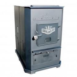 US Stove (USSC) - 8500 - US Stove 8500 105, 00-BTUs 3, 000-Sq.Ft. 320lb 800-CFM Hopper Multi-Fuel Furnace