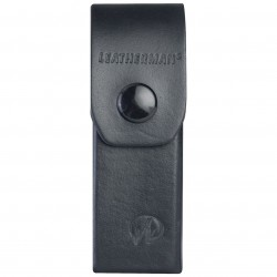 Leatherman Tool - 934835 - Leatherman Leather Belt Sheath for Blast - Top-loading - Leather - Black