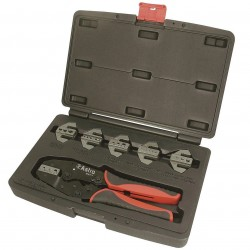 Astro Pneumatic Tool - 9477 - Astro Pneumatic 9477 7-Piece Quick Interchangeable Ratchet Crimping Tool Set