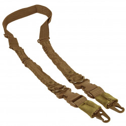 NcSTAR - AARS21PT - NcStar AARS21PT VISM Fully Adjustable Double Point D-Ring Sling, Tan