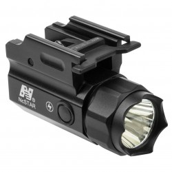 NcSTAR - ACQPTF - NcStar ACQPTF 150-Lumen Quick-Release Pistol and Rifle Strobe Flashlight