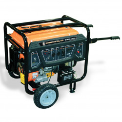 BN Products - BNG5000 - BN Products BNG5000 240-Volt 5000 Watt Electric Start Gas Power Generator
