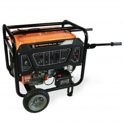 BN Products - BNG6500 - BN Products BNG6500 240-Volt 6500 Watt Electric Start Gas Power Generator