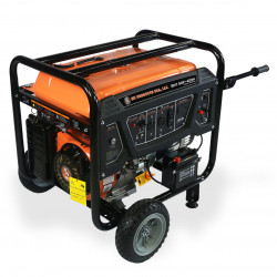 BN Products - BNG7500 - BN Products BNG7500 240-Volt 7500 Watt Electric Start Gas Power Generator