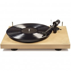 Crosley Furniture - C10A-NA - Crosley C10A-NA 2-Speed Pro-Ject Tone Arm Manual Belt Driven Turntable - Natural