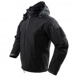 NcSTAR - CAJ2968BL - NcStar CAJ2968BL Polyester and Micro Fleece Delta Zulu Jacket - Black, Large