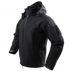 NcSTAR - CAJ2968BS - NcStar CAJ2968BS Polyester and Micro Fleece Delta Zulu Jacket - Black, Small
