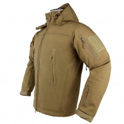 NcSTAR - CAJ2968TS - NcStar CAJ2968TS Polyester and Micro Fleece Delta Zulu Jacket - Tan, Small