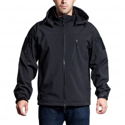 NcSTAR - CAJ2969B3XL - NcStar CAJ2969B3XL Polyester and Fleece Alpha Trekker Jacket - Black, 3XL