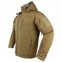 NcSTAR - CAJ2969TL - NcStar CAJ2969TL Polyester and Fleece Alpha Trekker Jacket - Tan, Large