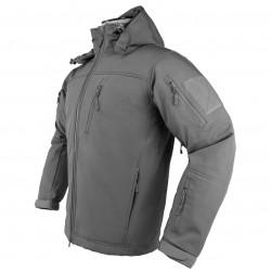 NcSTAR - CAJ2969U3XL - NcStar CAJ2969U3XL Polyester and Fleece Alpha Trekker Jacket - Urban Gray, 3XL
