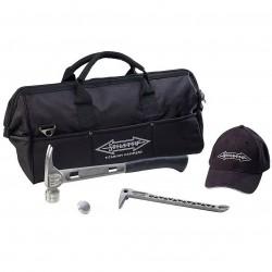 Stiletto Hammers - CB5TB - Stiletto CB5TB Hammer Steel Face Clawbar Cap Bag TiBone Combo Kit - 5 Piece