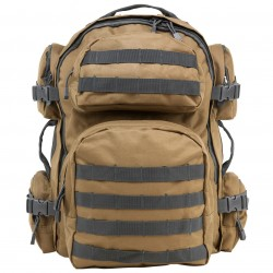 NcSTAR - CBTU2911 - NcStar CBTU2911 18-Inch x 12-Inch Tactical Backpack, Tan w/ Urban Gray Trim