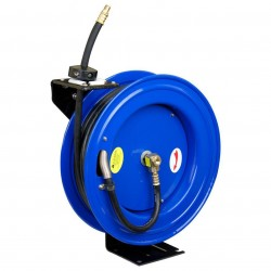 Cyclone Pneumatic - CP3689 - Cyclone Pneumatic CP3689 50' x 1/2'' Retractable Air Hose Reel