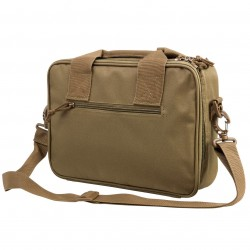 NcSTAR - CPDX2971T - NcStar CPDX2971T 13-Inch x 10-Inch VISM Series Double Pistol Range Bag, Tan