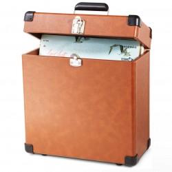 Crosley Furniture - CR401-TA - Crosley CR401-TA Record Carrying Case - Tan