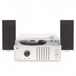 Crosley Furniture - CR6018A-NA - Crosley CR6018A-NA Fully Automtic Am/Fm Radio Turntable w/ Detachable Speakers