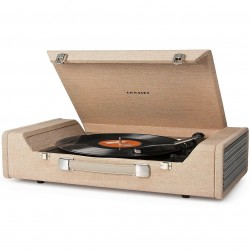 Crosley Furniture - CR6232A-BR - Crosley CR6232A-BR 3-Speed Nomad Portable USB-Enabled Turntable - Brown