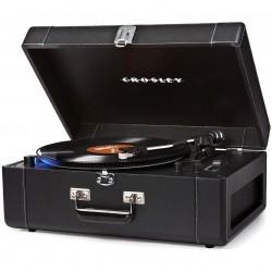 Crosley Furniture - CR6250A-BK - Crosley CR6250A-BK 2-Speed Keepsake Deluxe USB-Enabled Turntable - Black