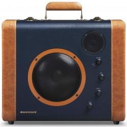 Crosley Furniture - CR8008A-BL - Crosley CR8008A-BL 6-Inch Bluetooth Soundbomb Portable Speaker - Blue and Tan